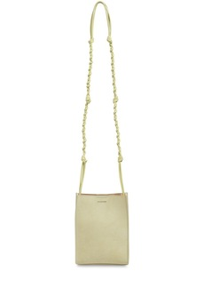 Jil Sander Sm Tangle Suede Shoulder Bag