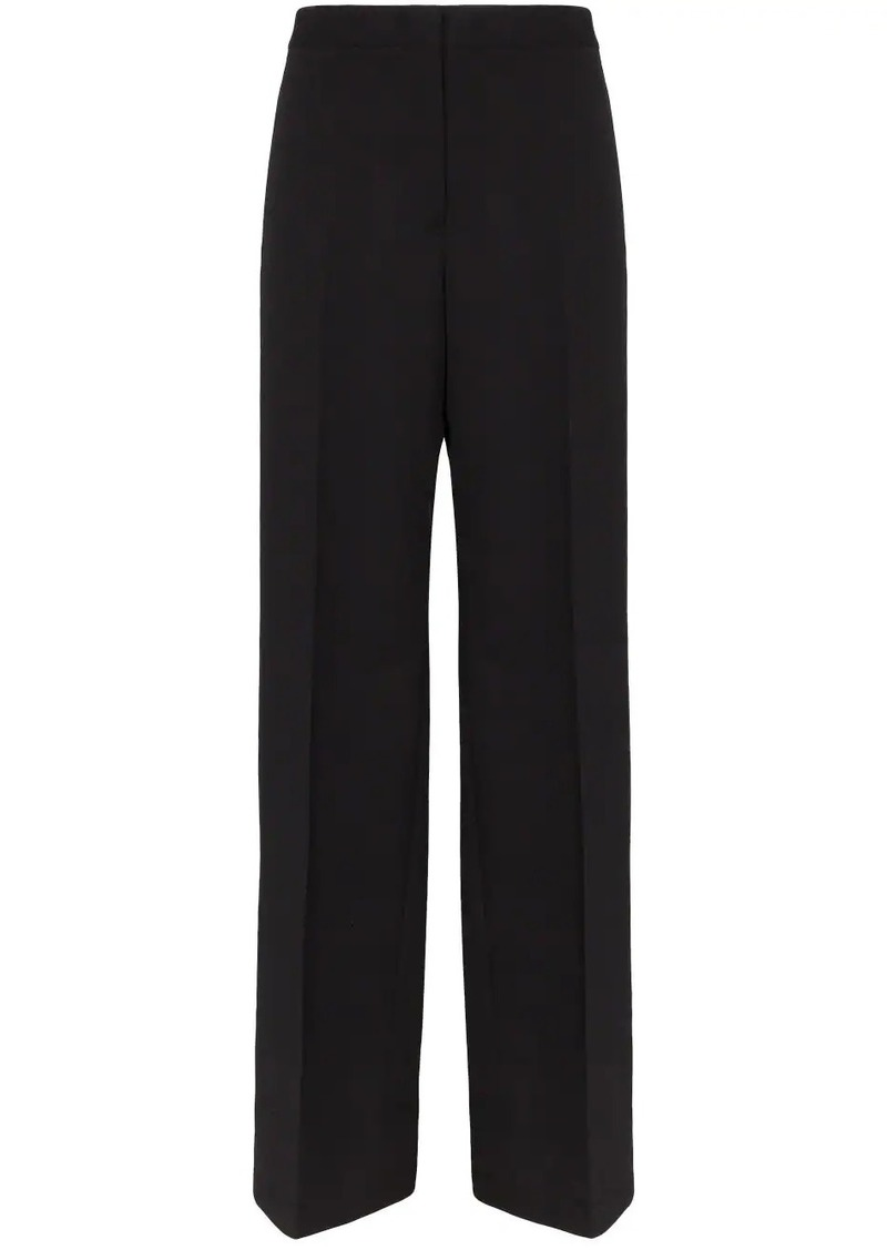 Jil Sander split cuff wide-leg trousers