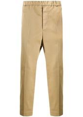 Jil Sander straight-leg cropped trousers