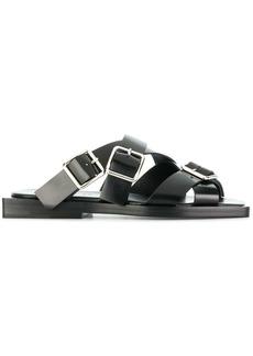 Jil Sander strappy flat sandals