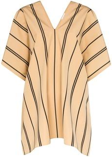 Jil Sander striped cotton top