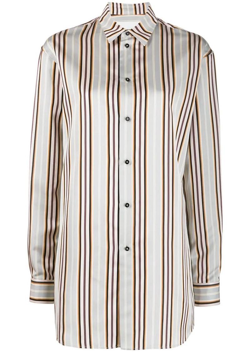 Jil Sander striped long shirt