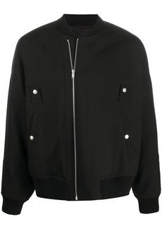 Jil Sander stud detail bomber jacket