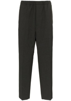 Jil Sander tailored and elasticated cropped trousers