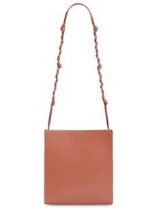 Jil Sander Tangle Medium Leather Shoulder Bag