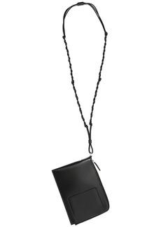 Jil Sander Tangle one-shoulder wallet