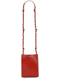 Jil Sander Tangle Small Leather Shoulder Bag