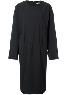 Jil Sander tucked effect dress