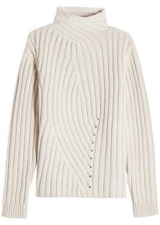 Jil Sander Turtleneck Pullover in Wool and Cashmere