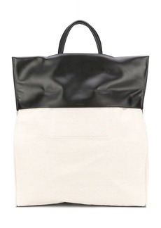 Jil Sander two-toned tote bag