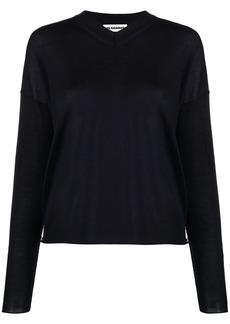 Jil Sander V-neck fitted jumper