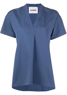 Jil Sander v-neck loose blouse