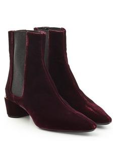 Jil Sander Velvet Calf Boots