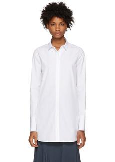 Jil Sander White Francesca Long Shirt
