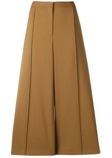 Jil Sander wide-leg cropped trousers