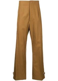Jil Sander wide leg trousers