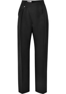 Jil Sander Wool-crepe Straight-leg Pants