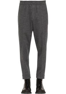 Jil Sander Wool Jersey Pants