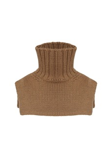 Jil Sander Wool Turtleneck Collar