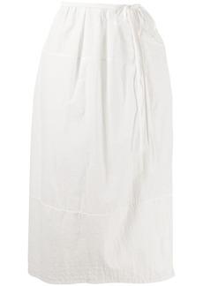 Jil Sander wrap skirt
