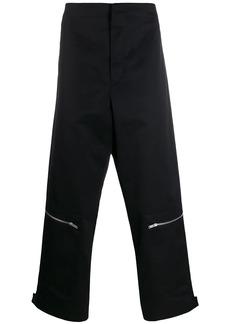 Jil Sander zip detail trousers