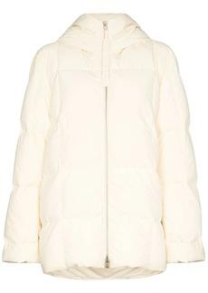 Jil Sander zip front puffer jacket