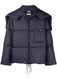 Jil Sander zipped padded jacket