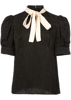 Jill Stuart bow tie blouse