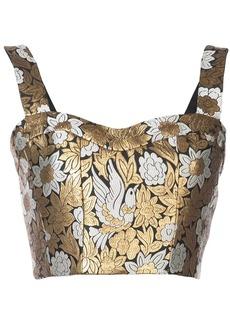 Jill Stuart corset crop top