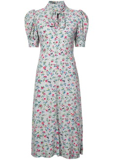 Jill Stuart floral bow tie dress