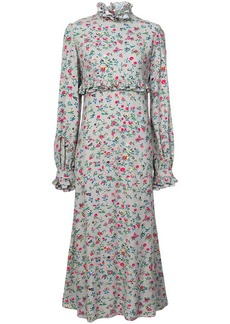 Jill Stuart floral print high neck dress