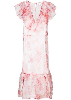 Jill Stuart Cara floral dress - Pink & Purple