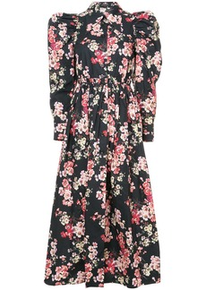 Jill Stuart Noot floral dress - Black
