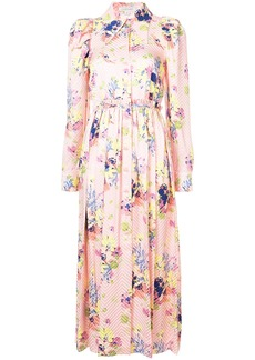 Jill Stuart Noot floral dress - Pink & Purple