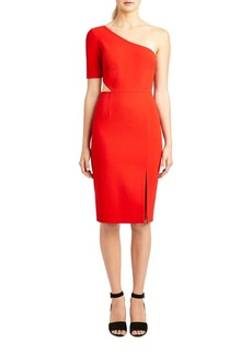 Jill Stuart One-Shoulder Sheath Dress