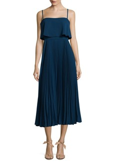 Jill Stuart Pleated A-Line Dress