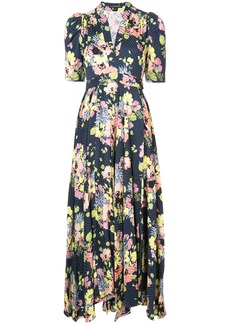 Jill Stuart Rianne floral dress - Blue