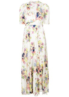 Jill Stuart Rianne floral dress - White