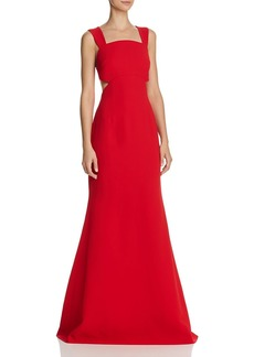 Jill Stuart Side-Cutout Gown