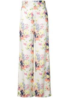Jill Stuart Kelsey floral trousers