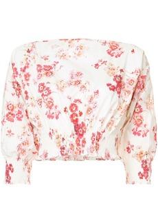 Jill Stuart Monica fitted blouse