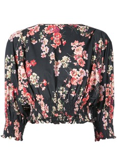 Jill Stuart Monica floral blouse