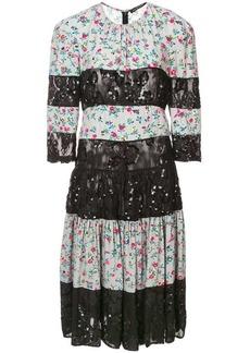Jill Stuart patchwork stripe dress