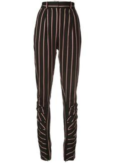 Jill Stuart pinstripe tapered trousers