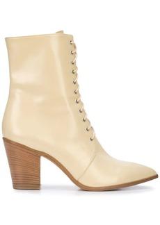 Jill Stuart Selina lace-up ankle boots
