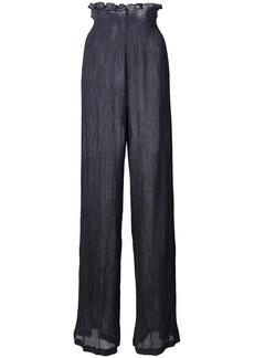 Jill Stuart sheer palazzo pants