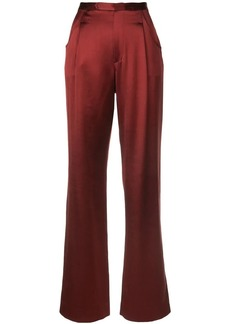 Jill Stuart sleek flared trousers
