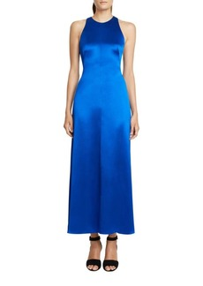 Jill Stuart Solid Midi-Length Dress