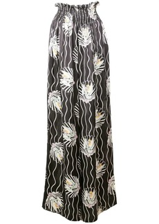 Jill Stuart Venus print palazzo trousers
