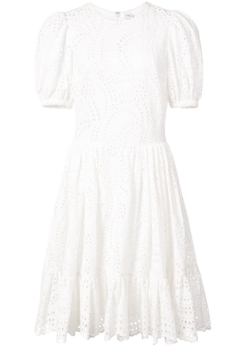 Jill Stuart Vika perforated dress